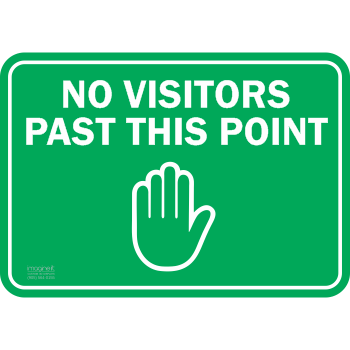 No Visitor Past This Point
