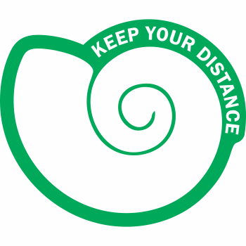 Keep Your Distance - Shell (5 per pack)