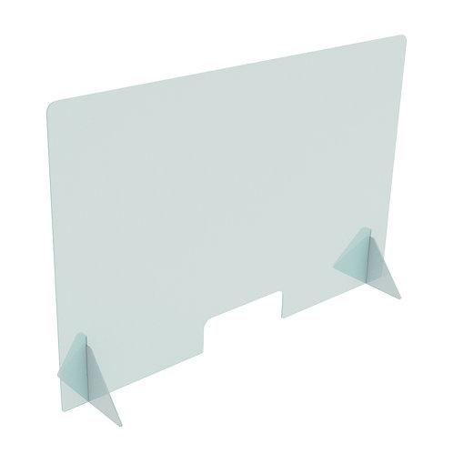 "Self Standing Shield - 48"" wide x 31.5"" tall"