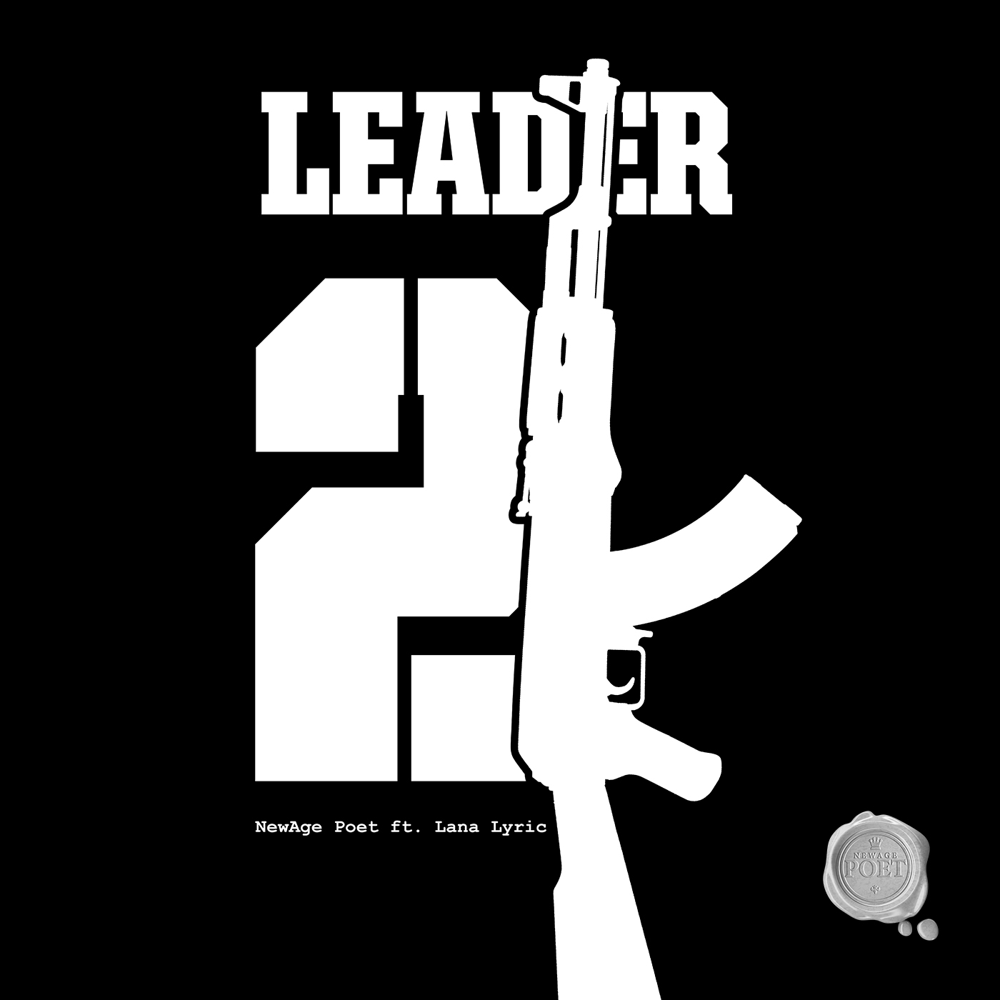Leader 2K Cd Cover | NewAge Poet