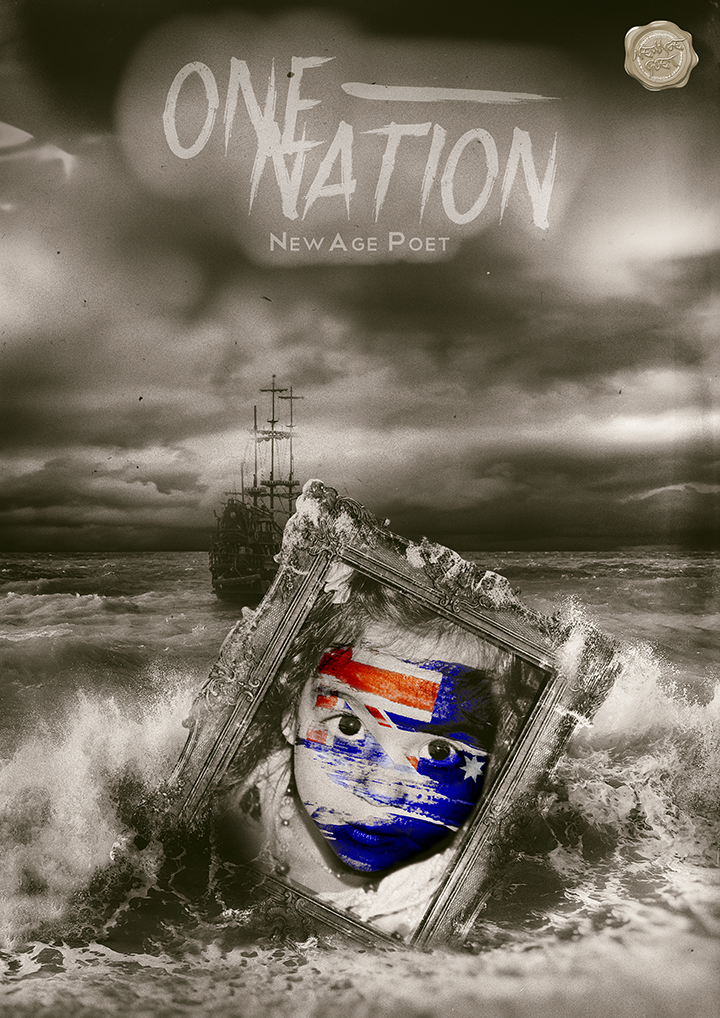 One Nation CD Cover | NewAge Poet