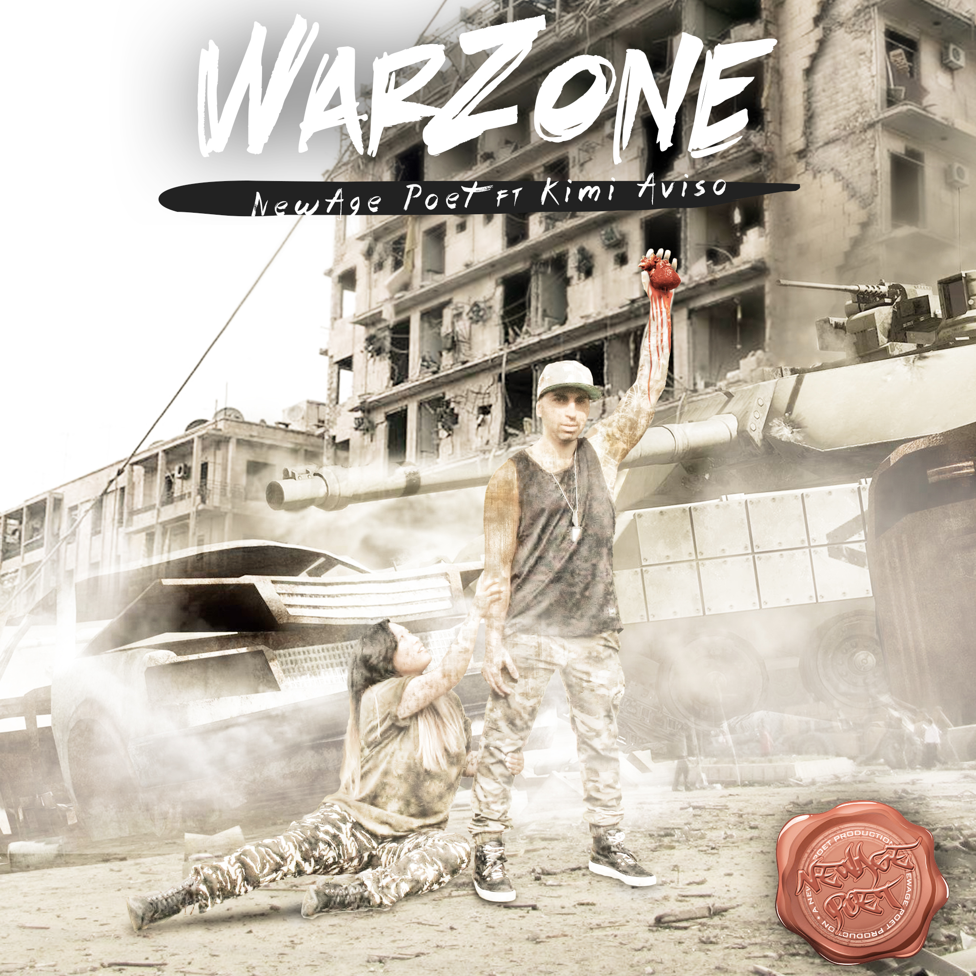 WarZone Album Cover | NewAge Poet