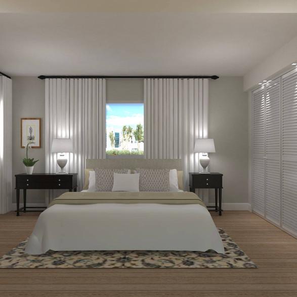 תיכנון ועיצוב חדר שינה הורים