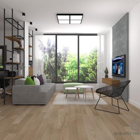 תכנון ועיצוב דירה תל אביבית