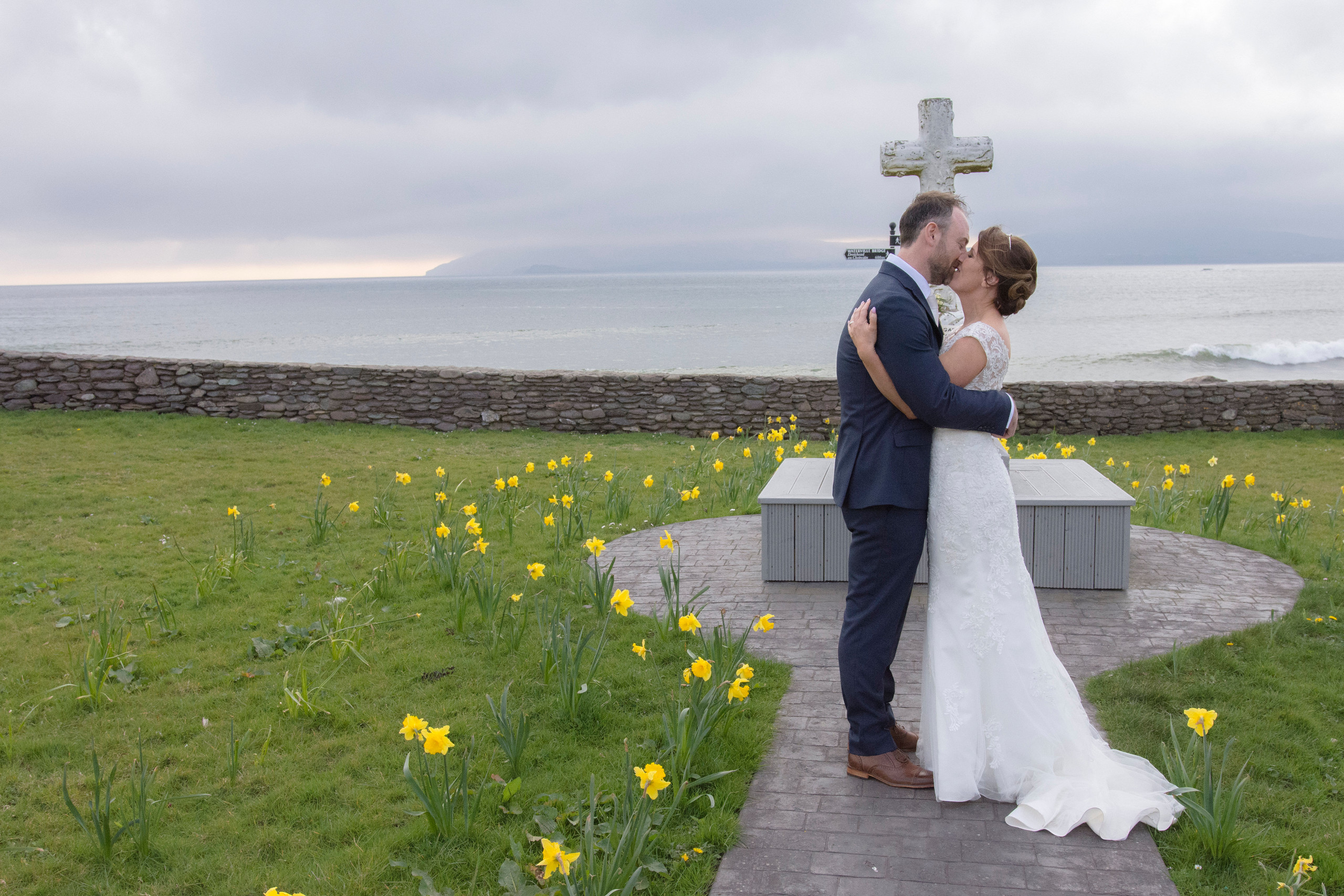 Irish Wedding Photos by Mike Curran Photography at the Sea Lodge Hotel Waterville
