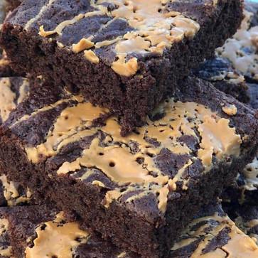 PB brownies