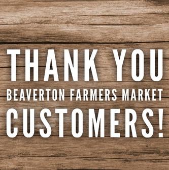 Thank you Beaverton