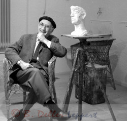 Toni Stadler,1968,Bildhauer