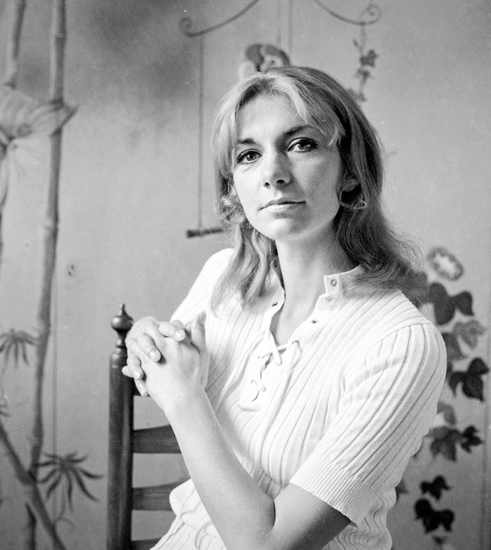 Erika Pluhar,1964,Sänger-u.Schauspielerin