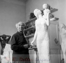 Walter Dietz,1963,Bildhauer