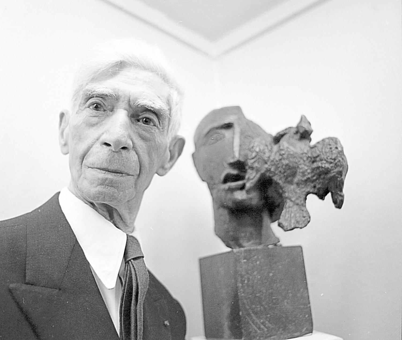 Ossip Zadkine,1966,Bildhauer