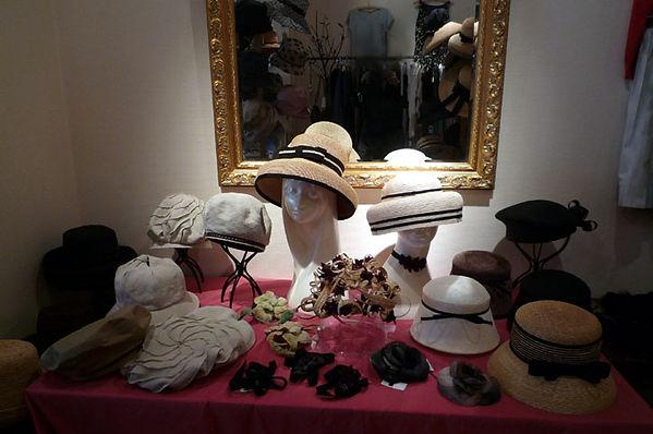 帽子展示風景