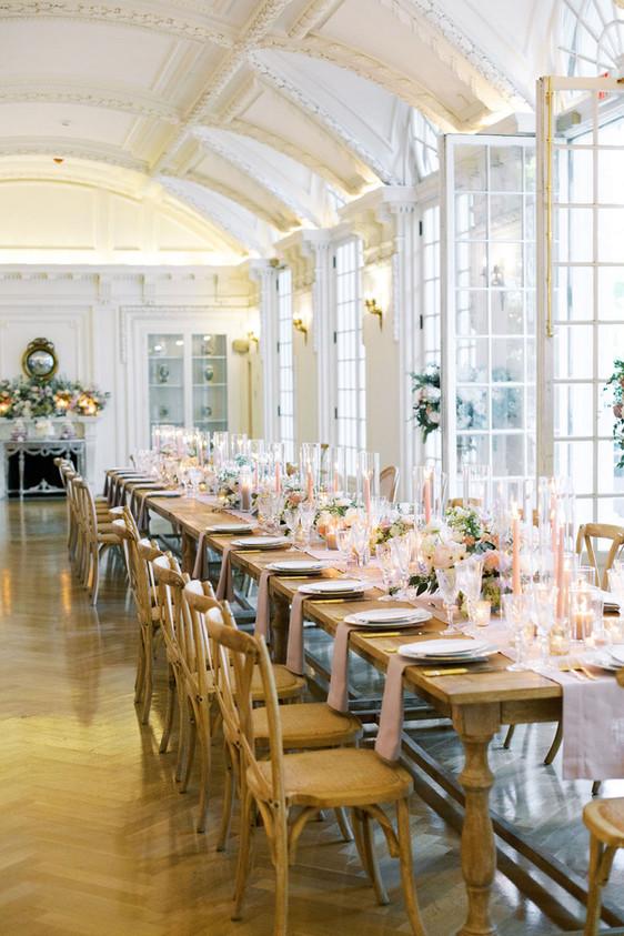 Lavender Parisian-inspired DAR Wedding