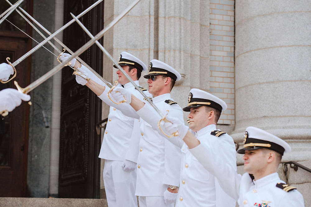 Naval Academy Wedding