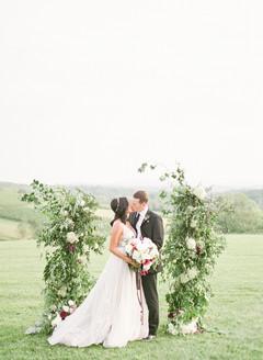 Fall Stone Tower Winery Wedding