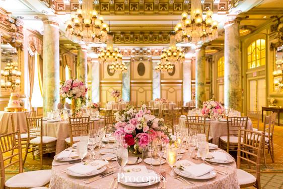 Beautiful Pink Willard Wedding