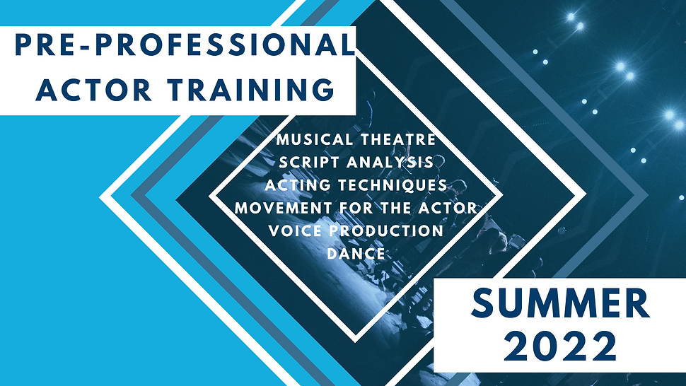 Copy of PRE-PROFESSIONAL ACTOR TRAINING.
