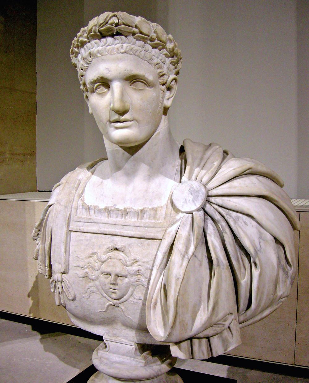 Bust of Emporer Domitian