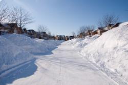 DCR snow bkgrd