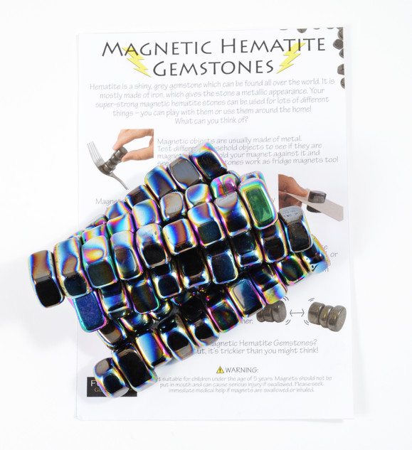 1KG Iridescent Magnets With Sheet