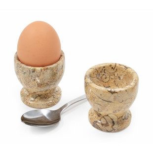 Fossilstone Egg Cups