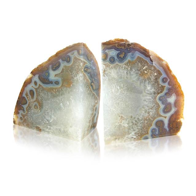 AAgate Bookend Natural