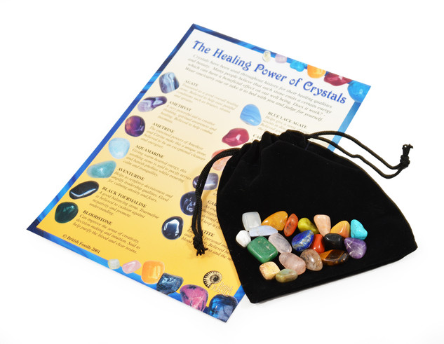 Gemstone Collection With Pouch and Card