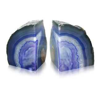 Agate Bookend Purple