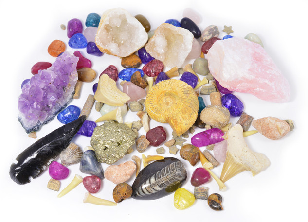 Rock, Fossil & Mineral Discovery Kit