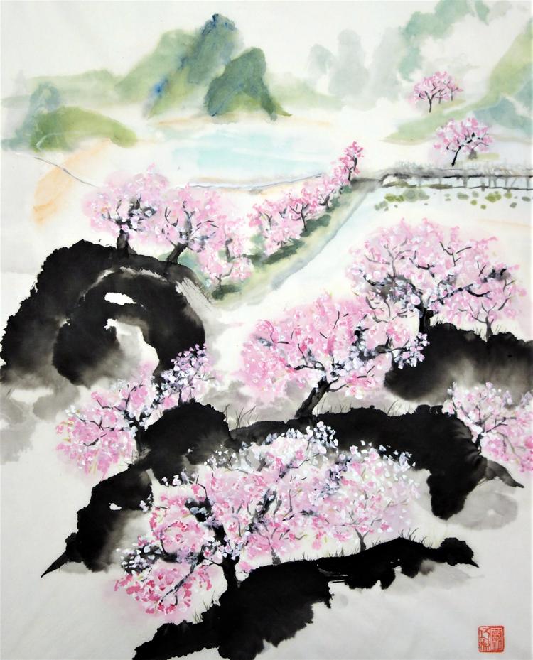 Peach Blossom Gorge