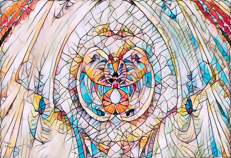 Mostly Stain Glass Fractal