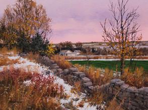 Hugh Greer - Buck Brush and Winter Wheat