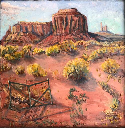 Last Gate on Navajo Land