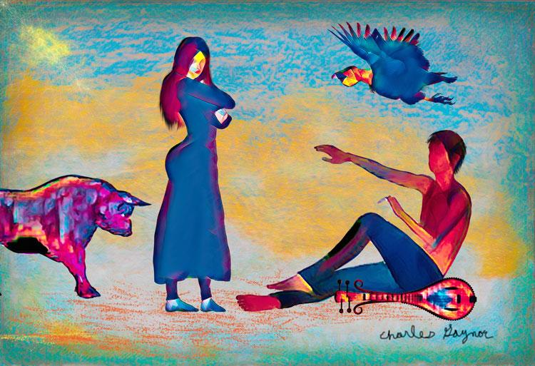 Picasso Scene