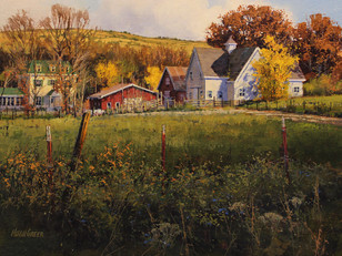 Hugh Greer - Flint Hills Autumn