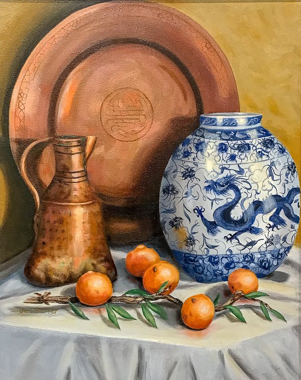 Tangerines and Turkish Copper