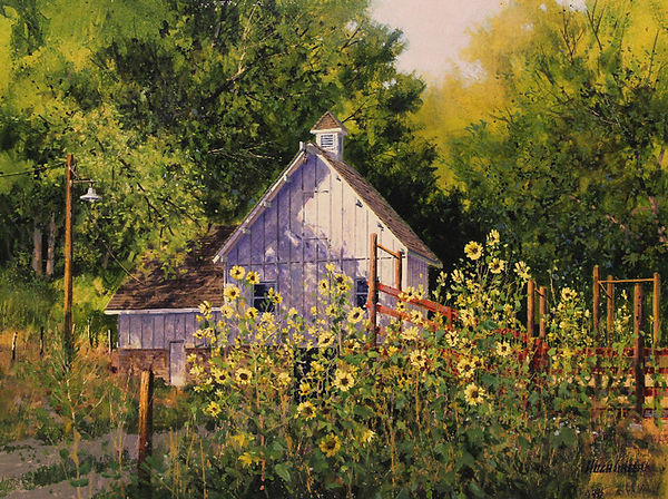 1132-Sunflowers-and-White-Barn-Gallery-X
