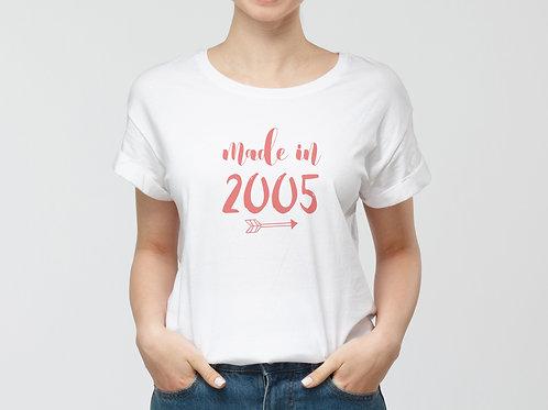 Made in ... szülinapi póló