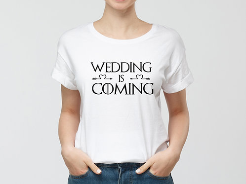 Wedding is coming