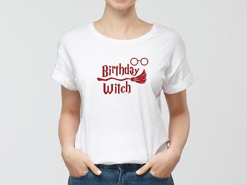 Birthday witch póló