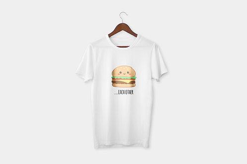 Hamburger Cola páros póló