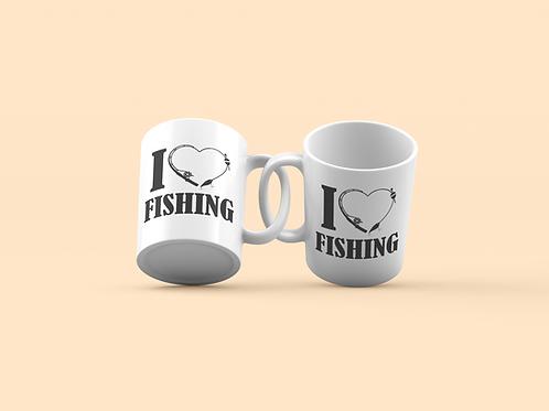 i love fishing bögre
