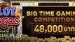 สนุกกับเกมสล็อตจาก BTG ชิงรางวัลเงินสดรวม 48,000 บาทได้ทุกสัปดาห์