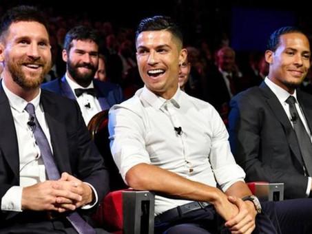 รางวัลฟุตบอลยอดเยี่ยมฟีฟ่า: Lionel Messi, Cristiano Ronaldo หรือ Virgil van Dijk