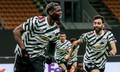 """""""ป็อกบา"""" ฮีโร่! ซัดนำชัยพาผีแดง บุกเชือด เอซี มิลาน 1-0 ทะลุรอบ 8 ทีม ยูโรปาลีก"""