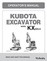 Kubota KX033-4, KX040-4