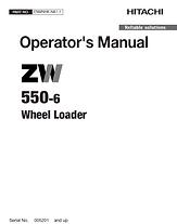 Hitachi ZW550-6