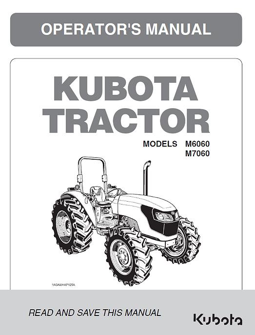 Kubota M6060, M7060 ROPS