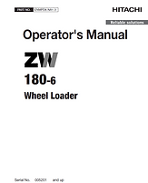 Hitachi ZW180-6