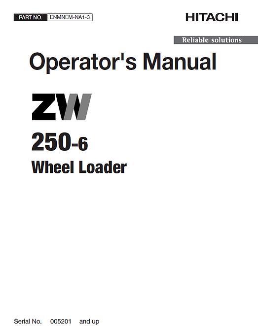 Hitachi ZW250-6